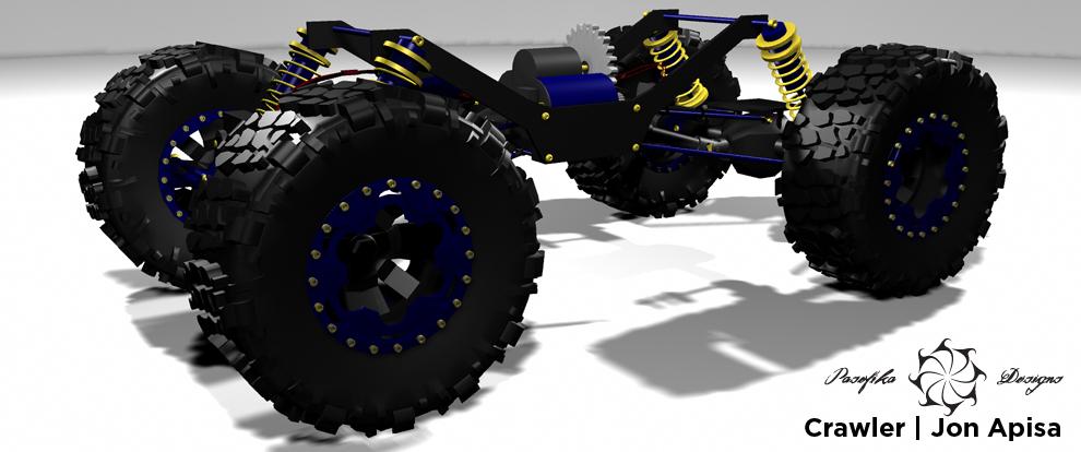 RC Crawler by Jon Apisa