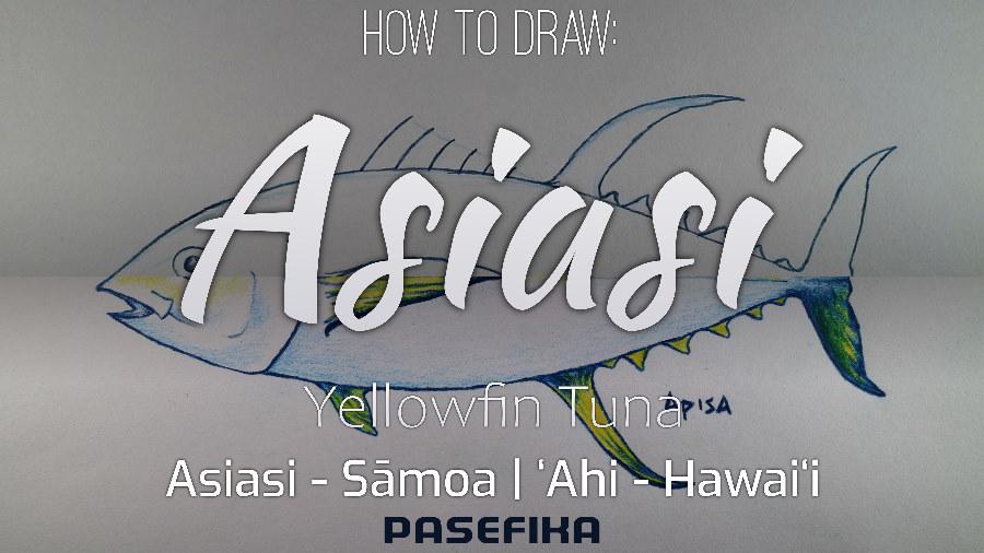 Pasefika | Asiasi | ʻAhi (Yellow Fin Tuna fish)| Jon Apisa