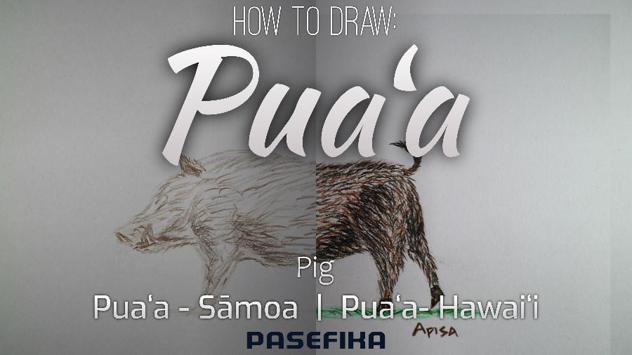 Puaʻa (Pig) | Pasefika | Jon Apisa