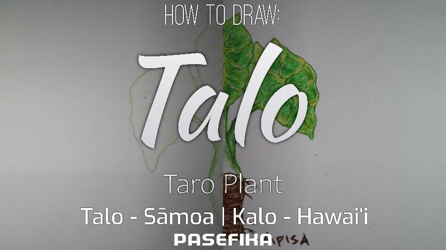 Talo | Kalo (Taro plant) | Pasefika | Jon Apisa