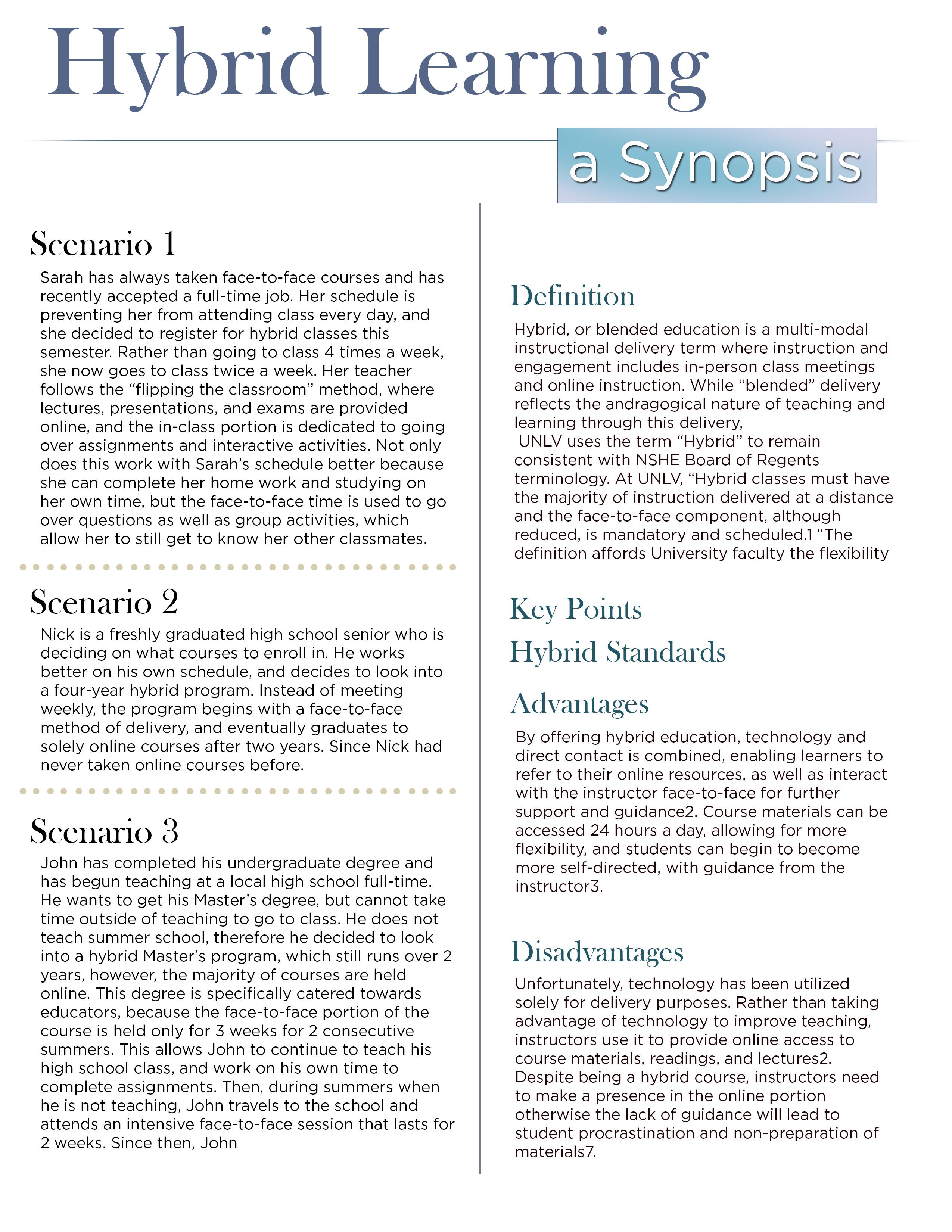 Hybrid Learning by Jon Apisa