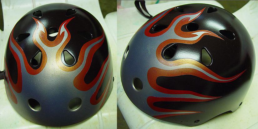 Helmet by Jon Apisa