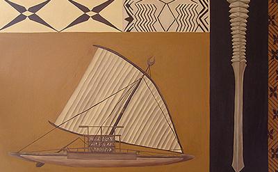Samoan art painting Poto Tele