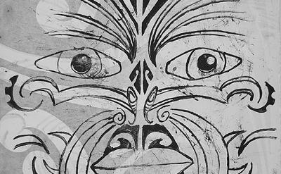 Maori art Ta Moko Print