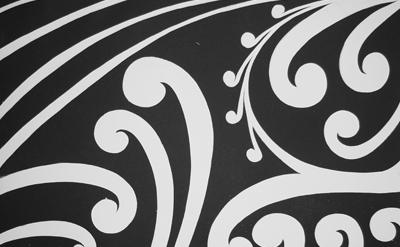 Maori art Koru Print