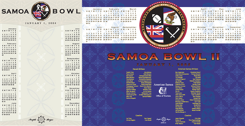 Sāmoa Bowl by Jon Apisa