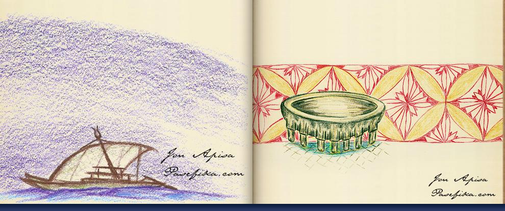 Apisa Sketchbook by Jon Apisa