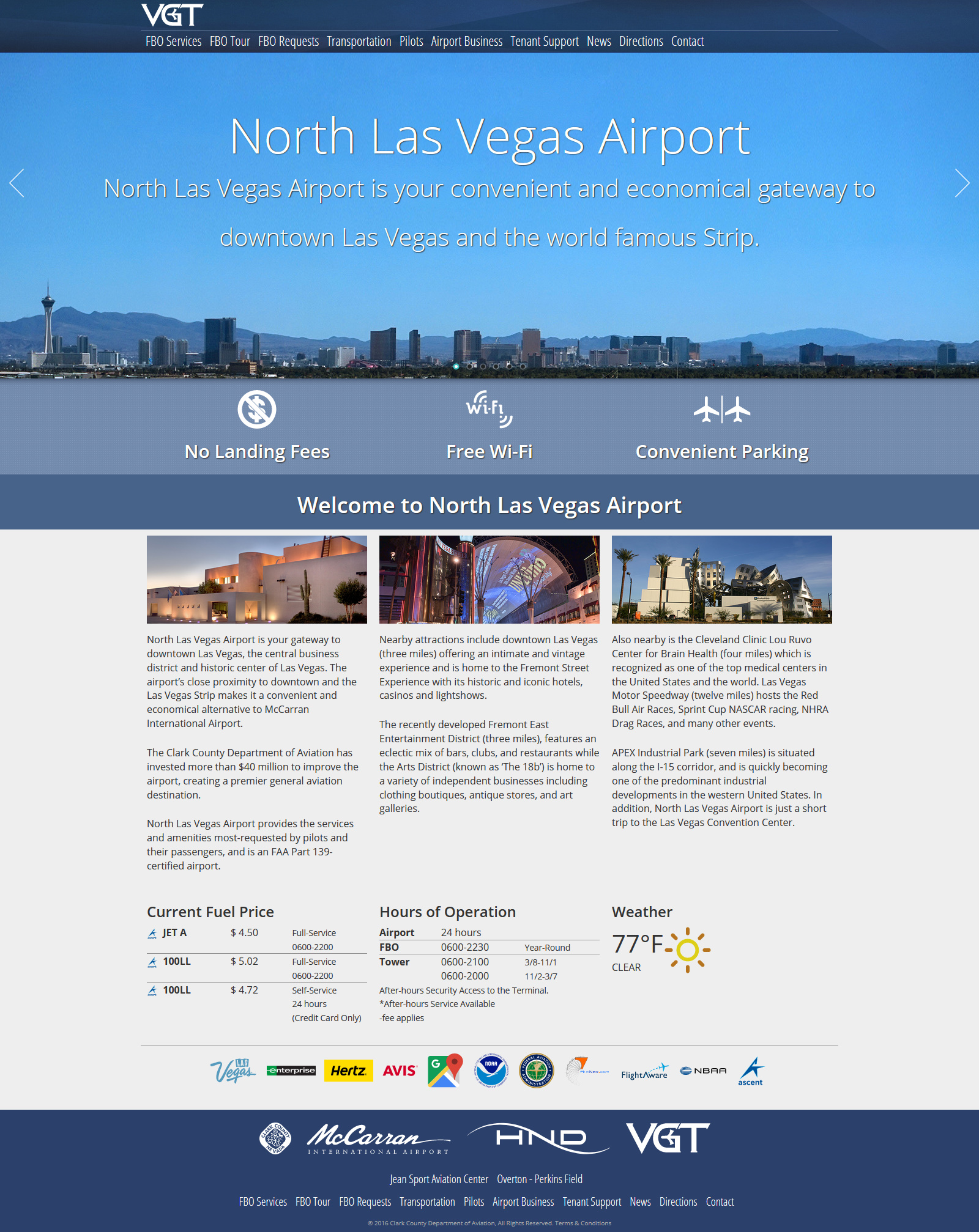 North Las Vegas Airport by Jon Apisa