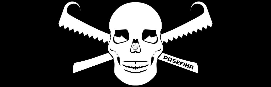 Nifoʻoti Skull 2 by Jon Apisa